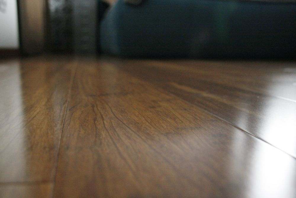 Nasza realizacja: podłoga bambus karmel