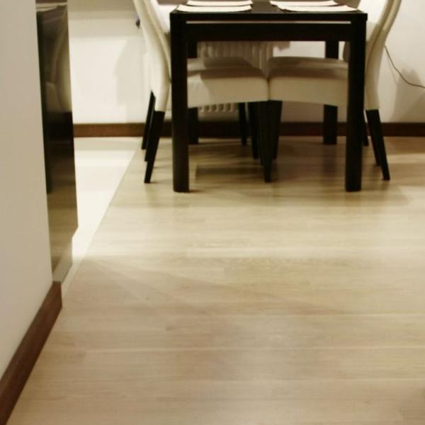 Nasza realizacja: podłoga dąb bielony olejowany