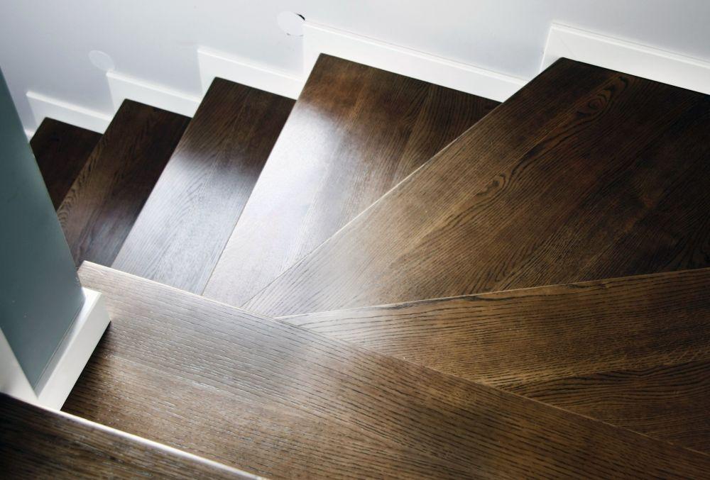 Nasza realizacja: podłoga i schody dąb whisky